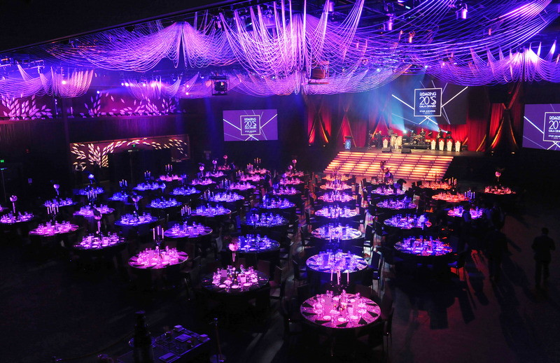 The Star - The Event Centre - Banquet setup view
