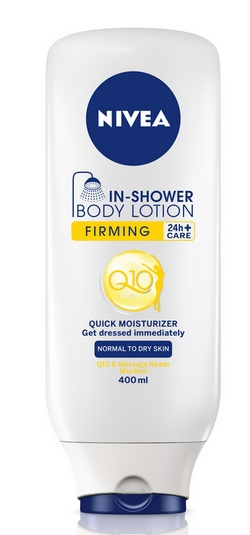NIVEA Q10plus Firming In Shower Body Lotion cr
