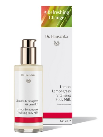Lemon Lemongrass Vitalising Body Milk 145ml GB DE Press cr
