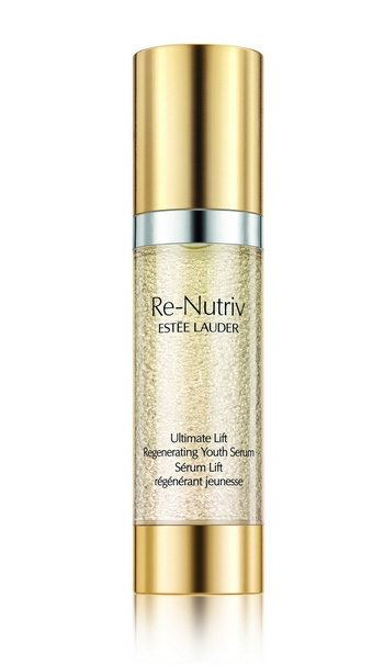 ReNutriv Ultimate Lift Regenerating Youth Product on White Serum Global Expiry October 2017 cr