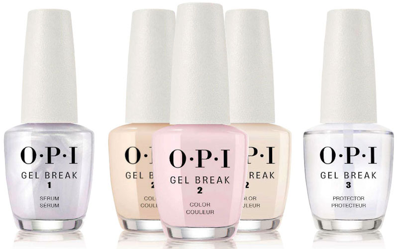 OPI Gel-Break-3-Step-Treatment-System Swatches