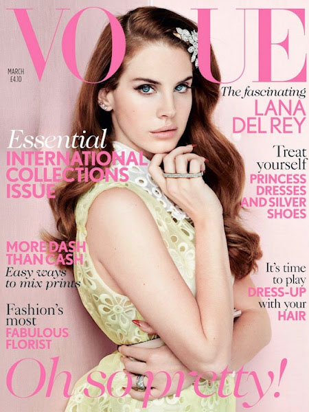 Lana Del Ray Vogue cover uk march