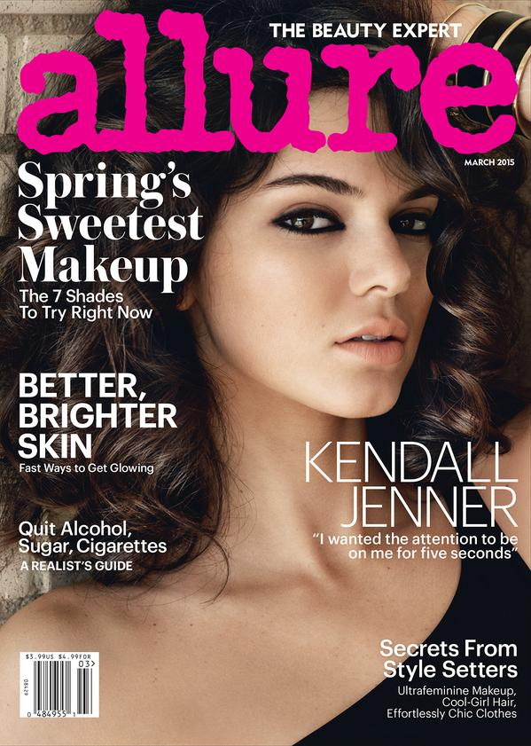 kendall jenner allure march 2015 cover