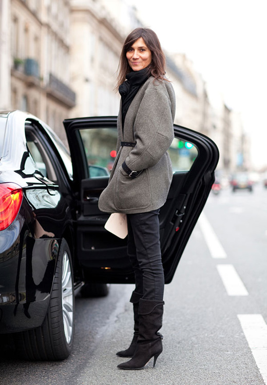 emmanuelle-alt-tweed-coat-black-boots-harpers-bazaar-mr-newton