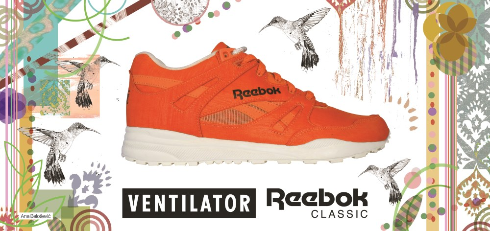 Reebok Ventilator Ana Belosevic
