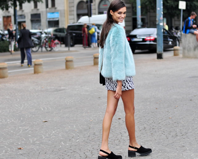 street style at milan fashion week ss15 GIZELE OLIVEIRA