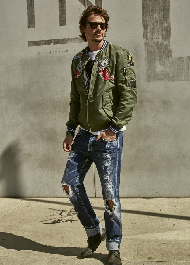 Replay SS2017 MAN LOOK BOOK 18 tshirtjeanscipele