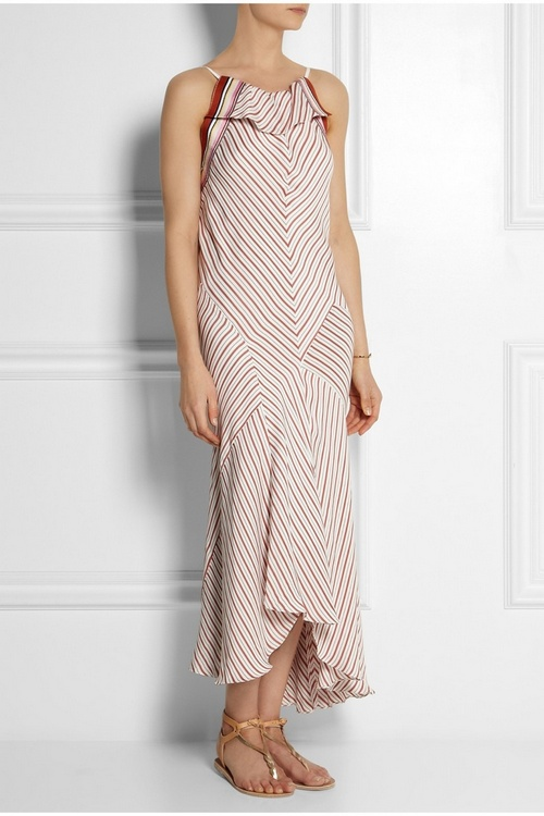 chloe-netaporter-striped-crepe-dress