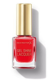 Max Factor Gel Shine Laquer Patent Poppy Pack  cr