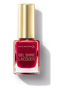 Max Factor Gel Shine Laquer Radiant Ruby Pack cr