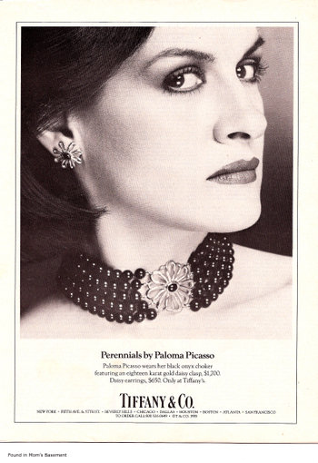 tiffany and co ad 1985