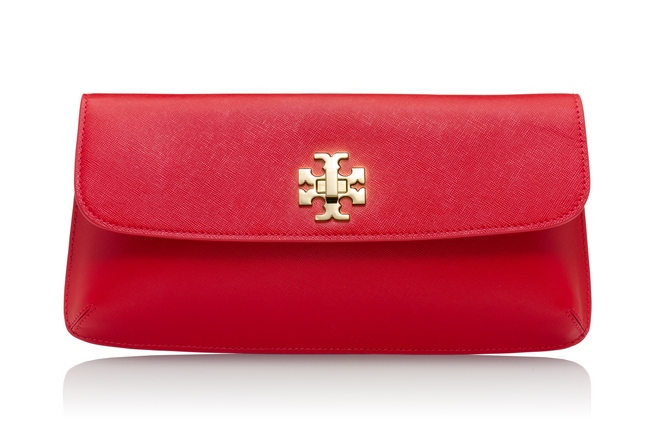 TB Diana Slim Clutch in Kir Royale cr