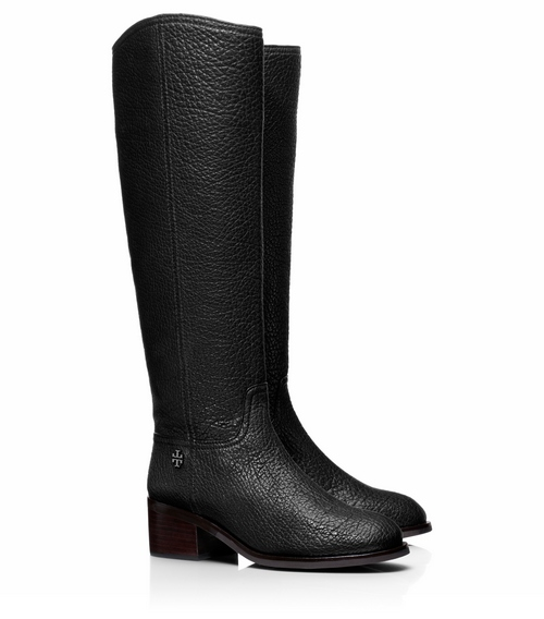 TB Fulton 55mm Boot - Lamb Figuera in Black