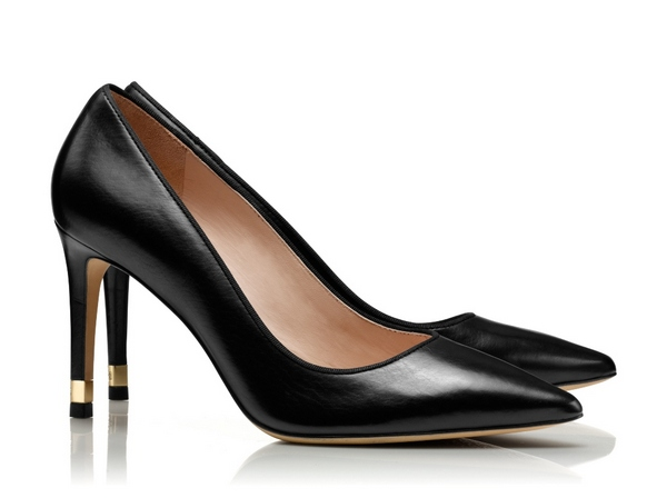 TB Greenwich 85mm Pump - Classic Vitello in Black cr