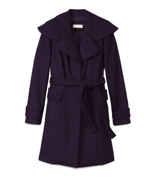 TB Heidi Coat in Medium Navy
