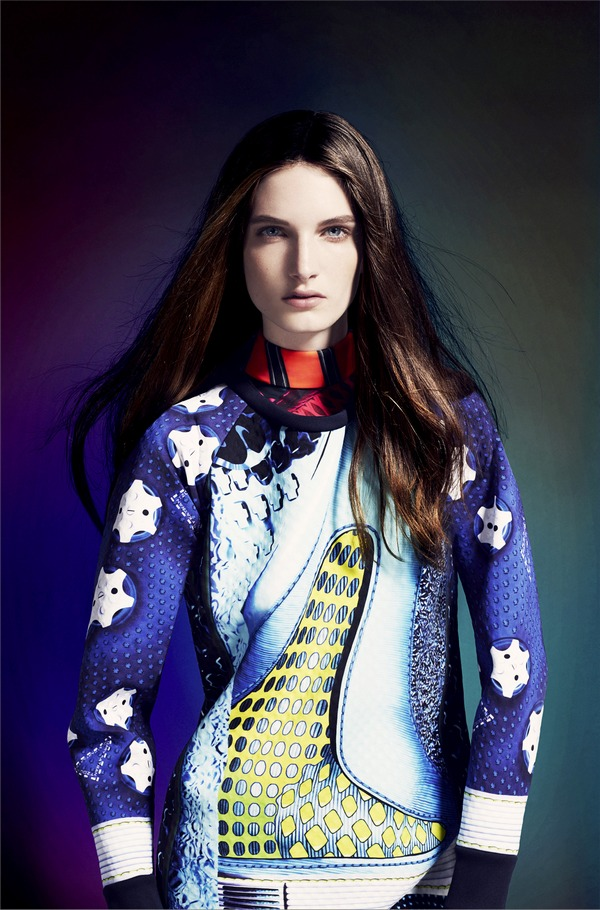 adidas Originals by Mary Katrantzou AW14 model 1