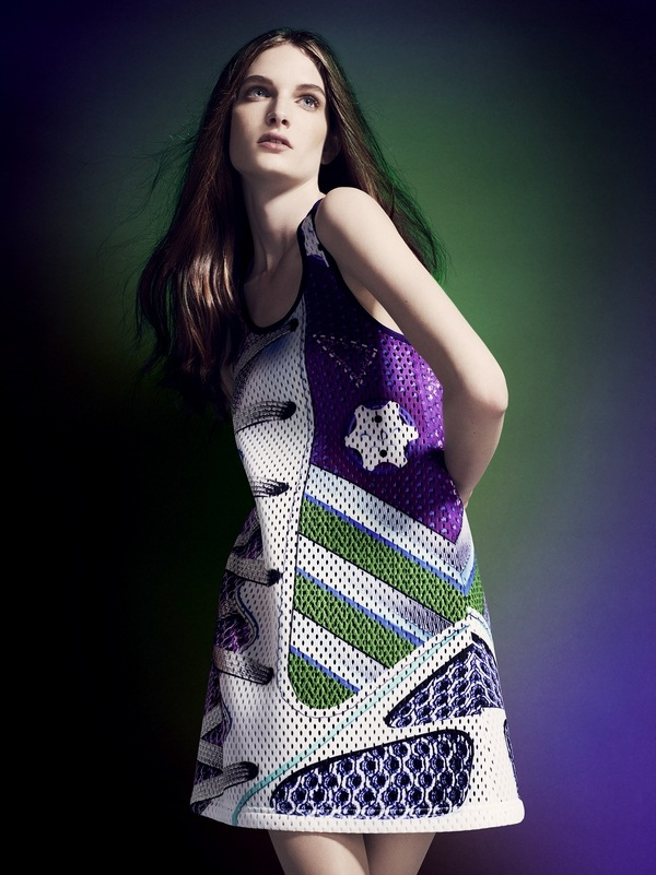 adidas Originals by Mary Katrantzou AW14 model 2