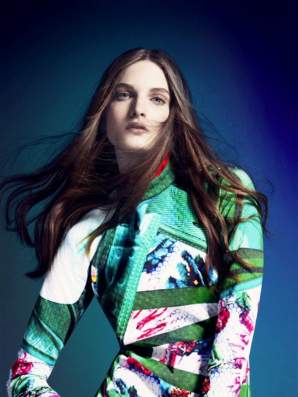 adidas Originals by Mary Katrantzou AW14 model 3