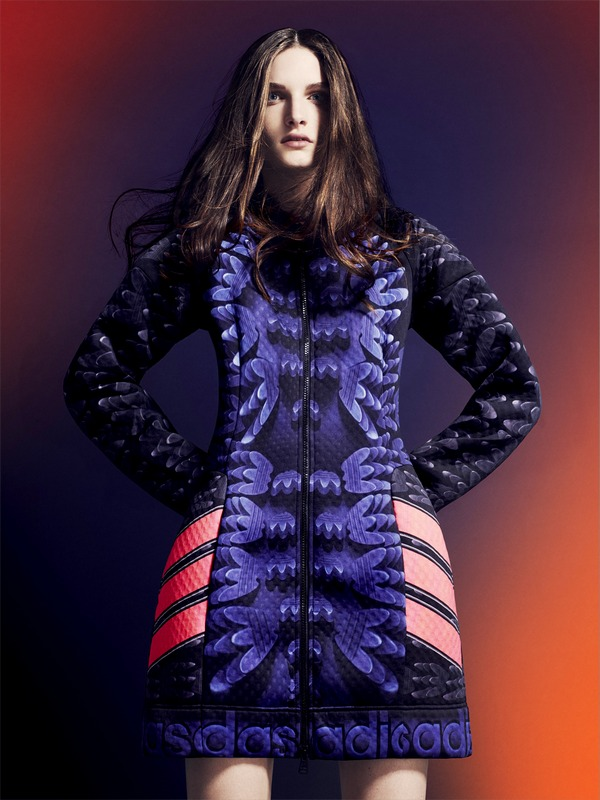 adidas Originals by Mary Katrantzou AW14 model 5