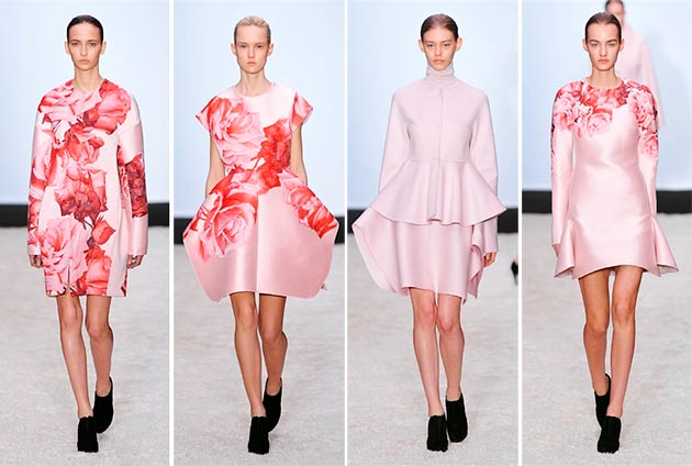 Giambattista Valli fall winter 2014 2015 collection Paris Fashion Week8