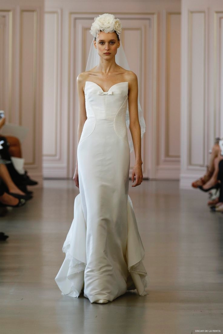 oscar de la renta 2016 spring wedding dresses16