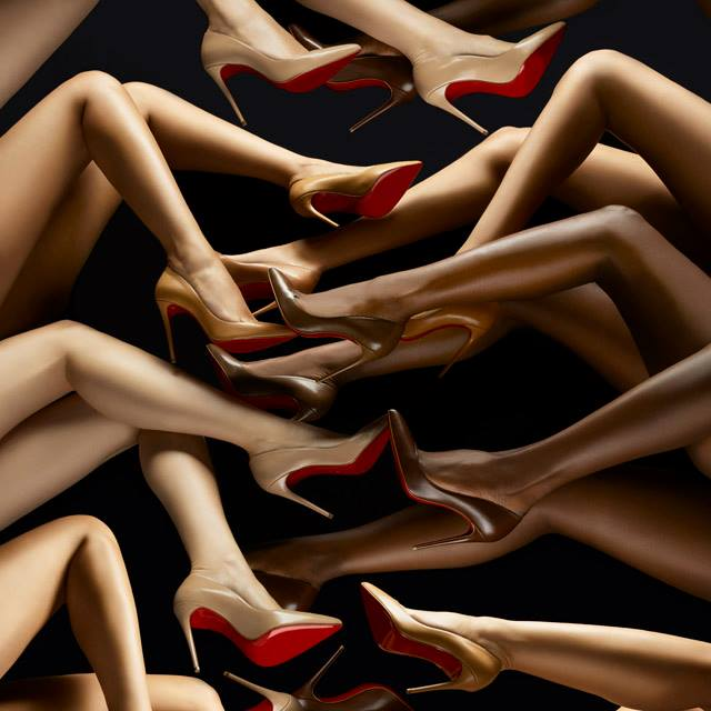 christian louboutin new nudes heel collection