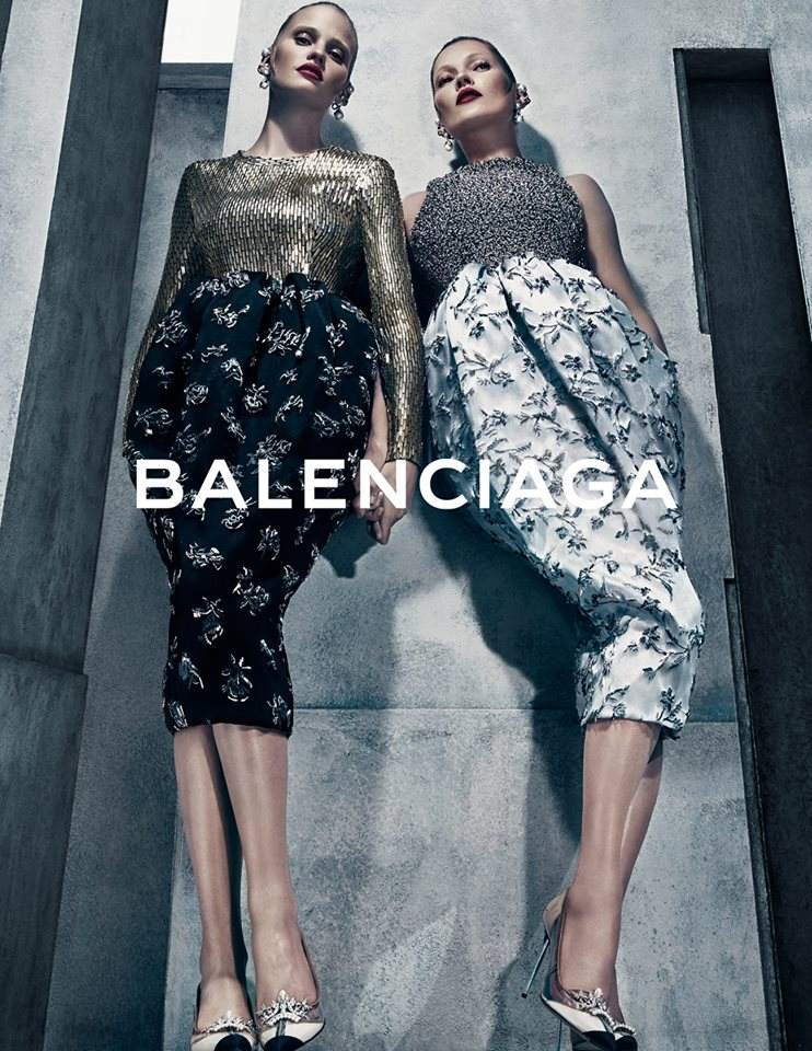 Balenciaga Fall Winter 2015 2016 ad 2x