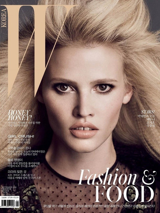 Lara-Stone-W-Korea-September-2015-Cover02