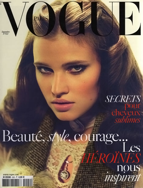 lara-stone-vogue-paris-september-2009-cover