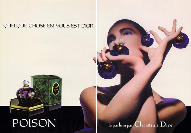 Poison by Christian Dior Vintage ad 1985
