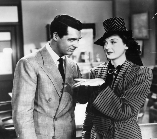Hawks His girl Friday Cary Grant Rosalind Russell G-89042