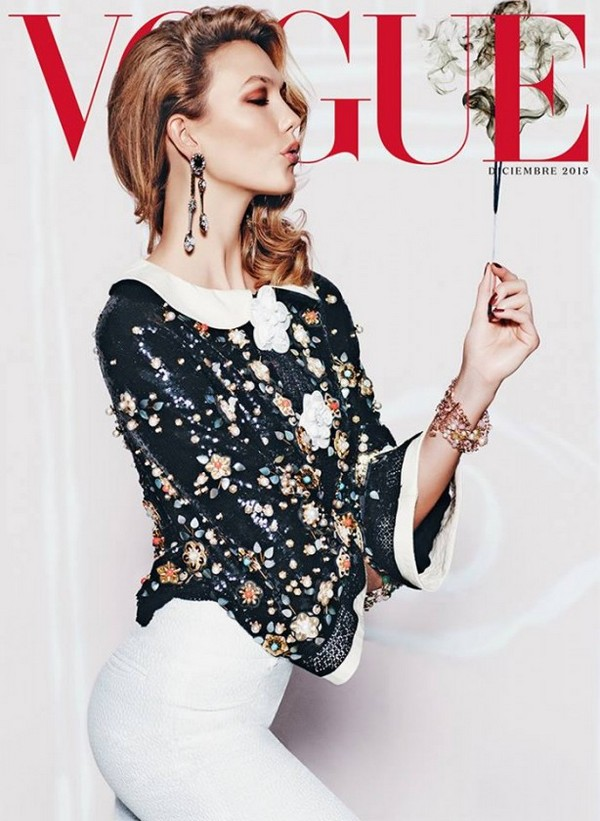 Karlie-Kloss-wears-chanel-for-Vogue-Mexico-December-2015-Cover21-614x840