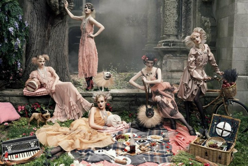 us vogue september 08 twenties spread