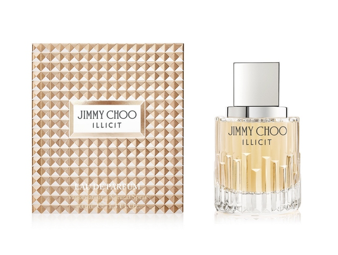 JIMMY CHOO ILLICIT 40ml BOTTLE  PACKAGING FRONT VIEW cr