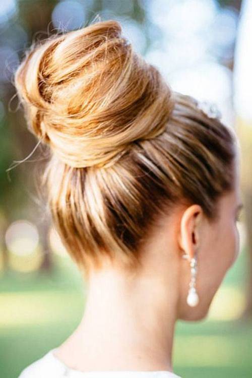 Messy-Chic-Bun-Hairstyles