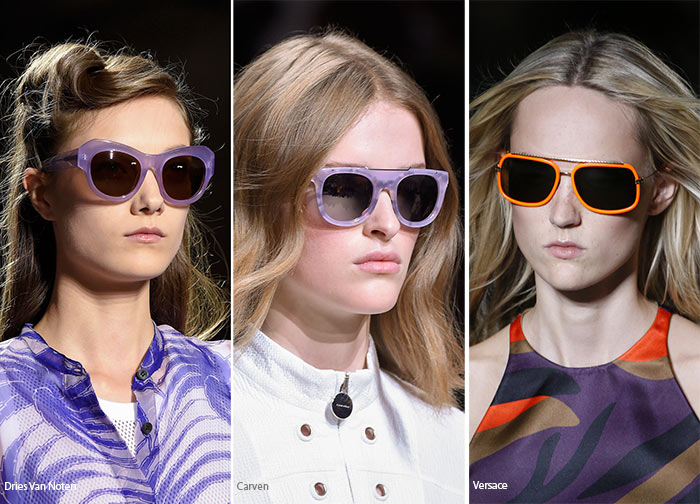 spring summer 2016 eyewear trends sunglasses with colorful frames2