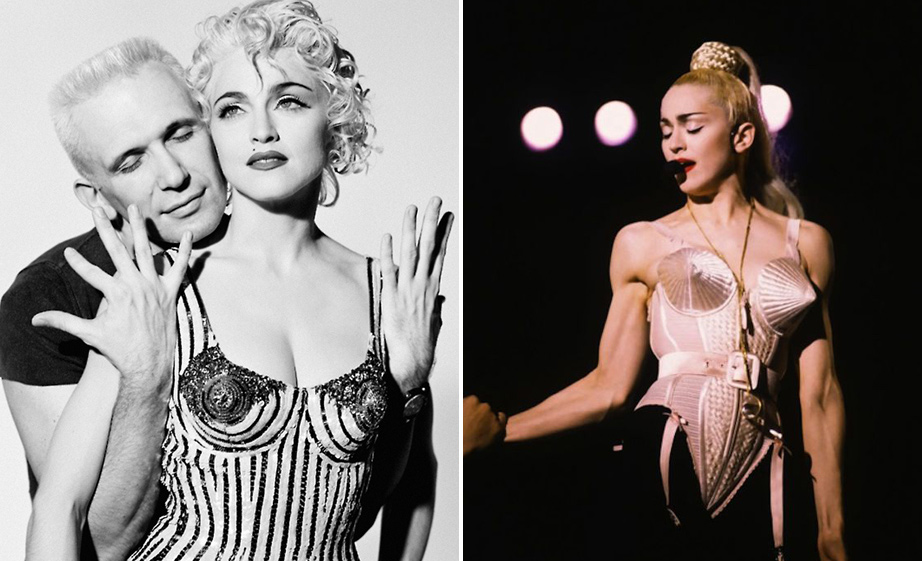JPG i madonna foto herb ritts 1990. i turneja blond ambition