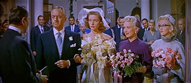 William Powell Lauren Bacall Betty Grable and Marilyn Monroe in How to Marry a Millionaire trailer