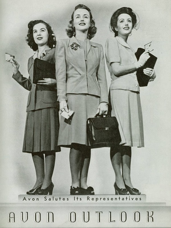 1942 Avon Ladies in war