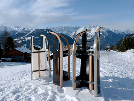 Folding Sled by Max Frommeld and Arno Mathies 0