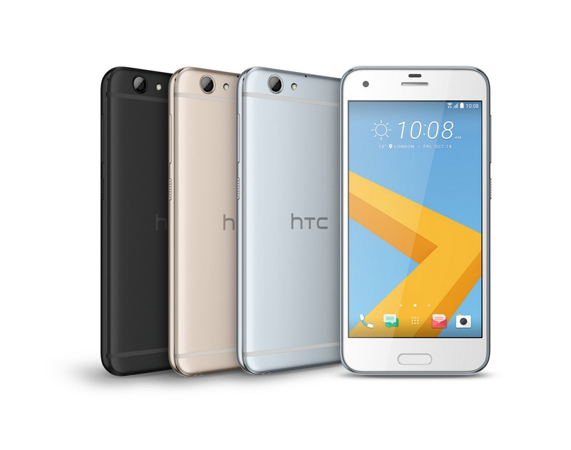 HTC One A9s PackShot