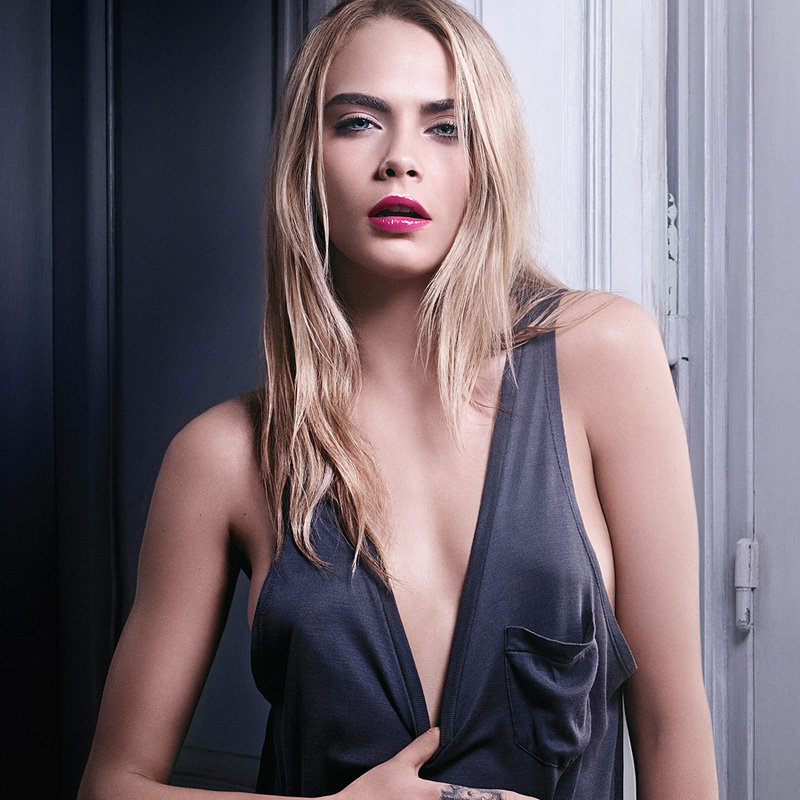 Yves-Saint-Laurent-Volupté-Tint-In-Oil-for-Spring-2015-promo-with-Cara-Delevigne
