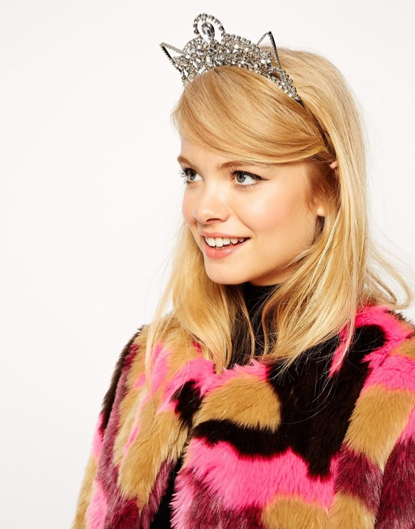 asos jewel cat ears hair crown