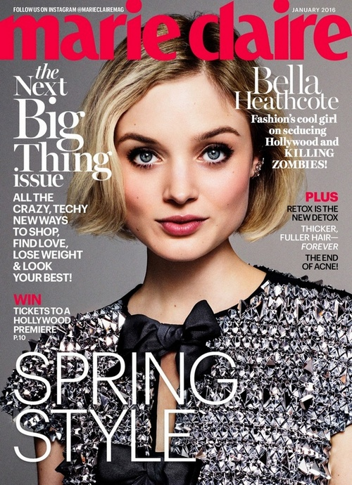 Bella-Heathcote-Marie-Claire-January-2016-Cover