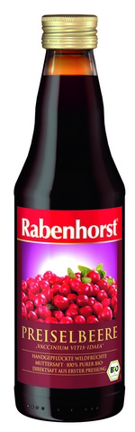 Sok od brusnice 330 ml Rabenhorst cr