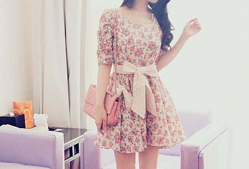 bag-bow-cute-dress-fashion-Favim.com-416964 large