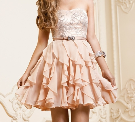 blonde-bow-dress-fashion-Favim.com-573011 large