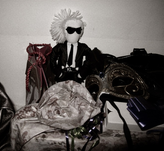 pepermint lagerfeld