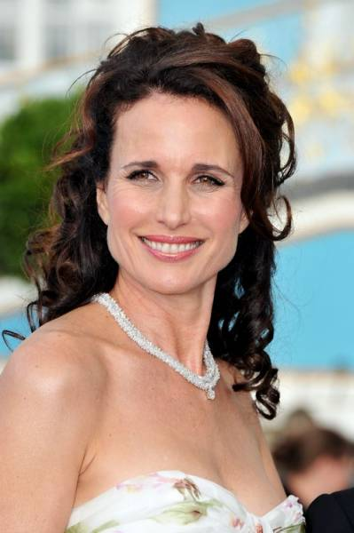 Andy MacDowell wearing the Montblanc Riviera Necklace