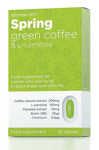 Spring Green coffee and L-carnitine